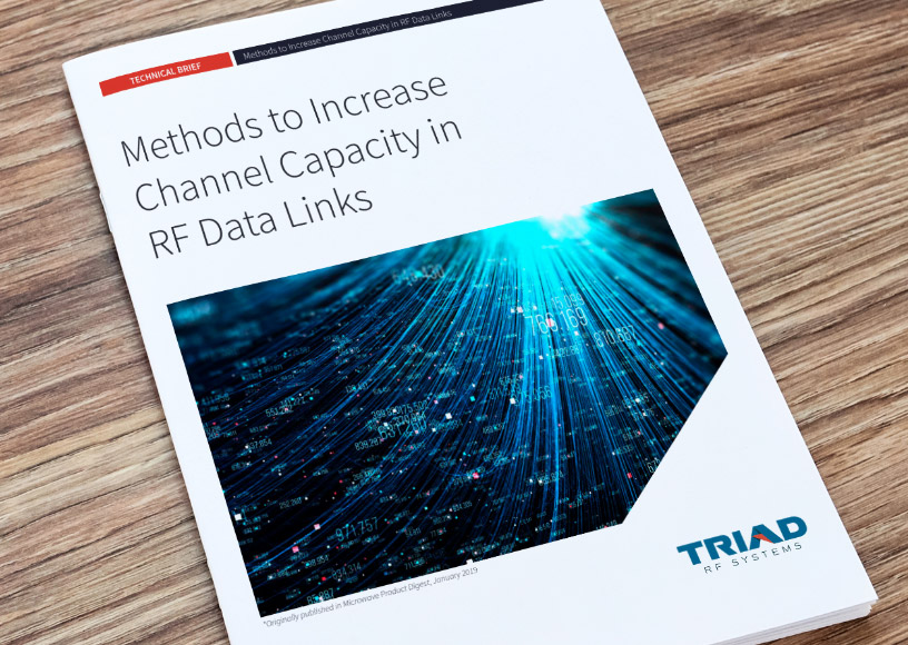 Tech Brief Describes How to Increase Channel Capacity in RF Data Links
